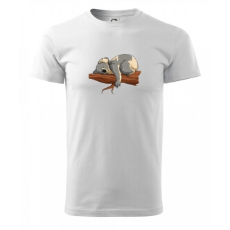 Tričko s potiskem Koala na větvi